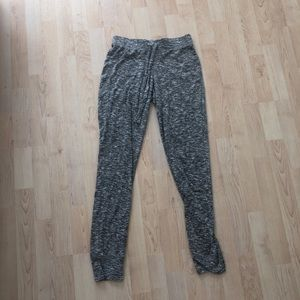 Grey speckled sweat pants!